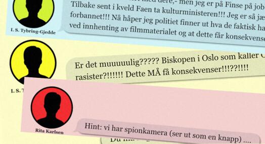 Publiserer 325 meldinger fra Bertheussens chatter: – Tilfører viktig kontekst
