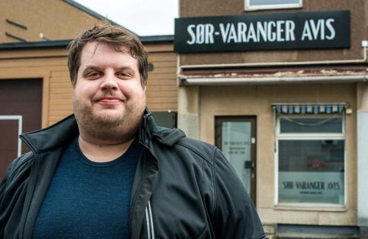 Ole-Tommy Pedersen gir seg som eneleder i Sør-Varanger Avis
