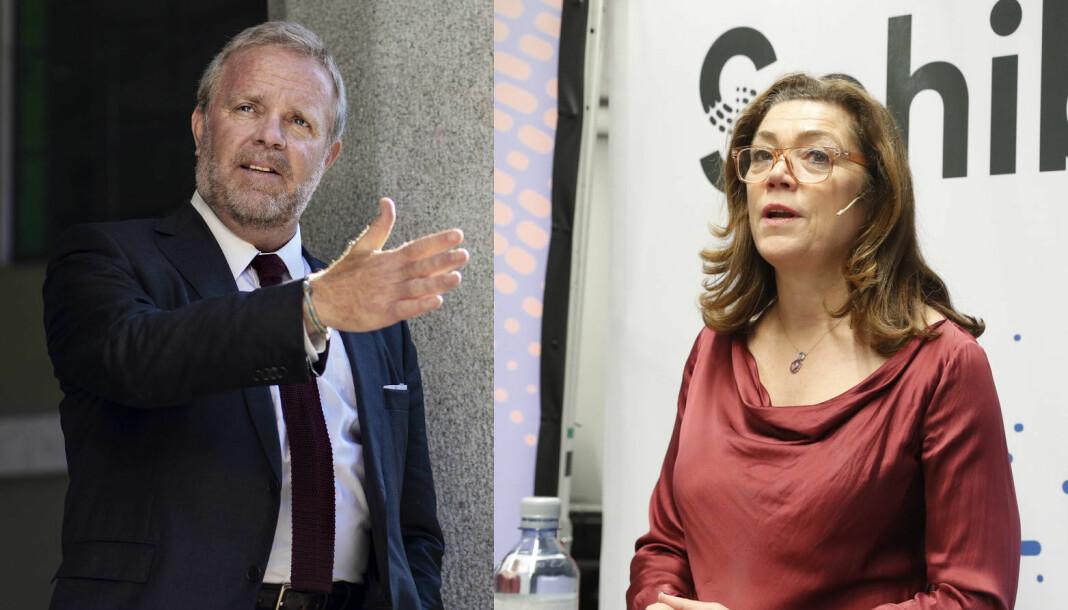 Styreleder Jon Wessel-Aas uttaler kritikk mot Schibsted-sjef Kristin Skogen Lund.