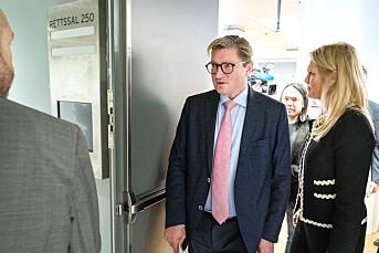 Christian Tybring-Gjedde ut mot mediene i sitt vitnemål: – Pressen har ingen interesse av å verne meg som offer
