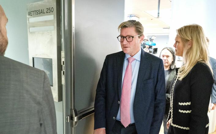 Christian Tybring-Gjedde ut mot mediene i sitt vitnemål