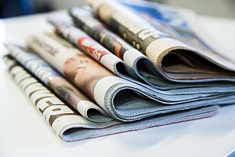 Enighet i lønnsoppgjøret for avistrykkerier