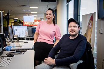 Matias Ytterstad og Tanja Wibe-Lund er ansatt som digitale vaktsjefer i Dagbladet