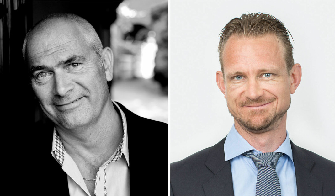 Jan Morten Drange, adm.dir. i Anfo og Vebjørn Søndersrød i Advokatfirma Ræder, er bekymret.