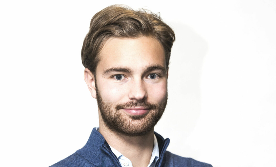 – Jeg håper også at min erfaring fra en fin tid i Finansavisen vil sette sitt preg på sportsjournalistikken, sier Herman Tinius Folvik.