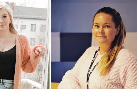 Tina Brock og Ellen Karin Moen er fast ansatt i NRK Oslo og Viken