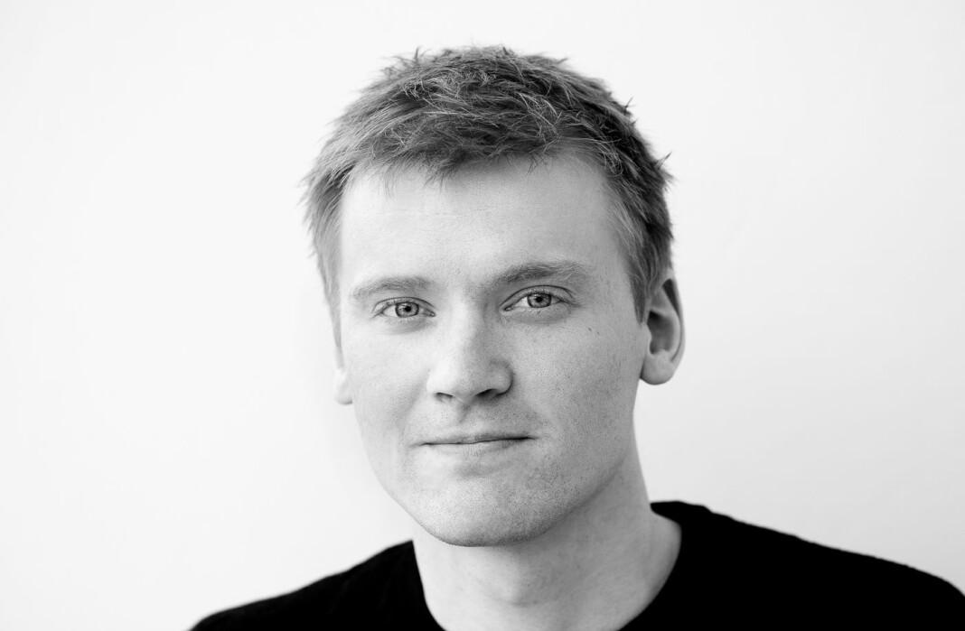 Fotojournalist Aleksander Myklebust jobber som frontsjef i Gudbrandsdølen Dagningen.