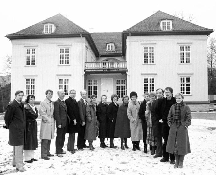 Bildet viser PFU på tur til Eidsvoll 1814 i 1980 og har selvsagt ingenting med denne delikate saken å gjøre.