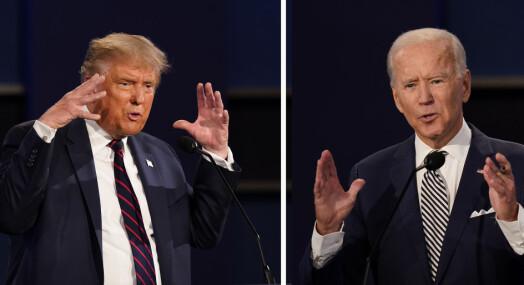Faktasjekk av presidentdebatten: – En flom av falske påstander