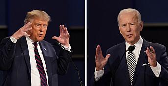 Faktasjekk av president-debatten: – En flom av falske påstander