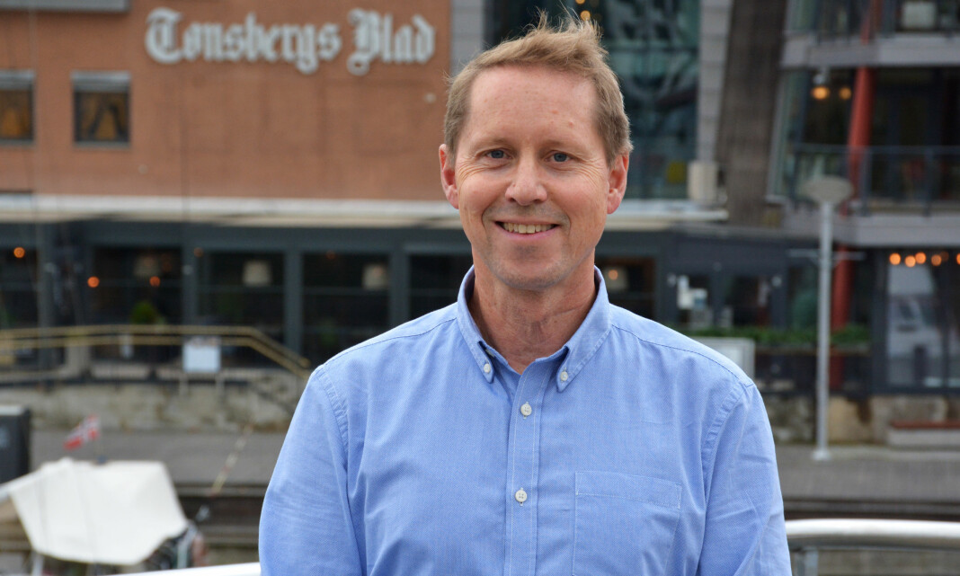 Forlater Tønsbergs Blad og journalistikken - blir NJs mann på heltid