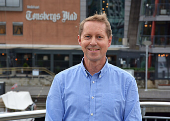 Organisasjonssekretær Henrik Ulrichsen.
