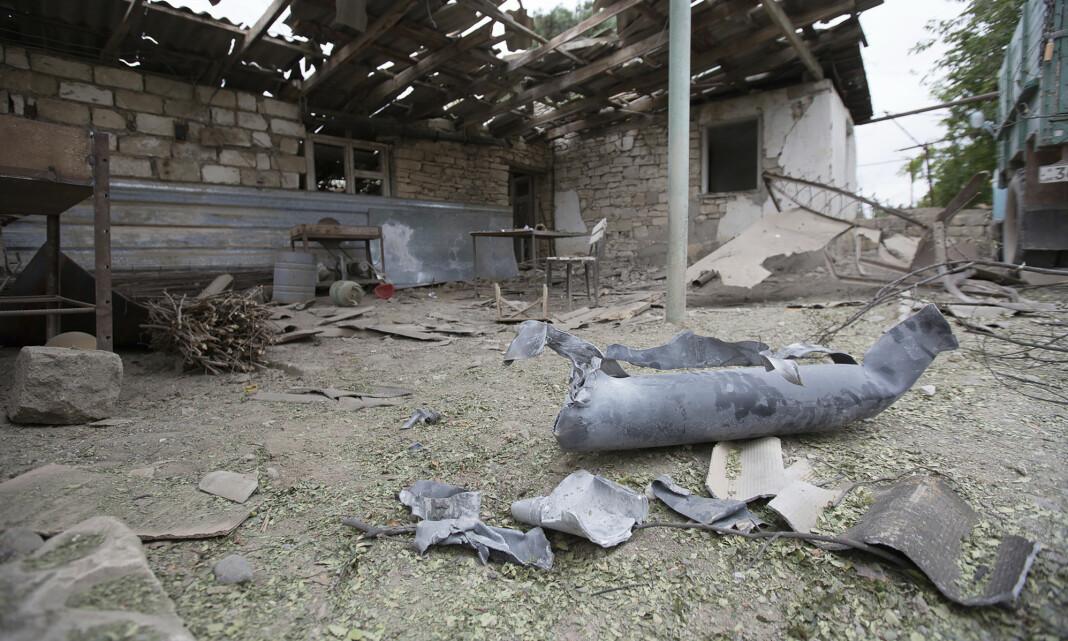 Le Monde-journalister såret i Nagorno-Karabakh