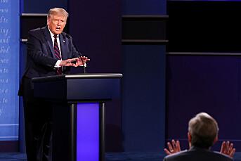 Trump ønsker ikke nye debattregler