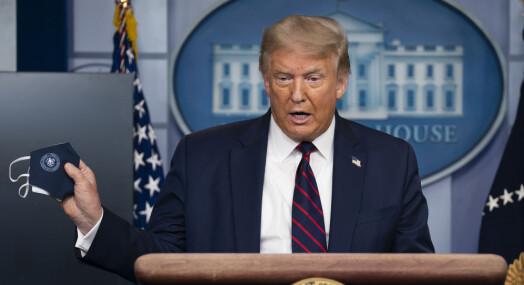Trump rangert som største kilde til feilinformasjon om koronaviruset