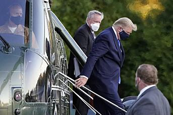 Twitter fjerner meldinger fra folk som håper Trump dør