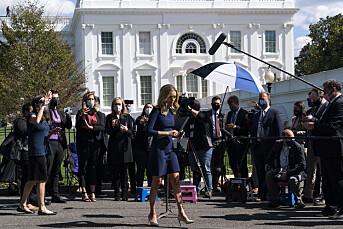 Tre journalister i Det hvite hus smittet med covid-19