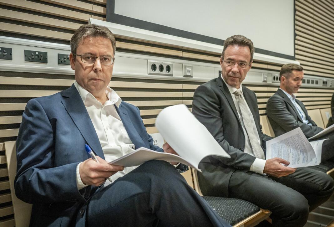 Dagbladets nyhetsredaktør Frode Hansen i retten torsdag 1. oktober.