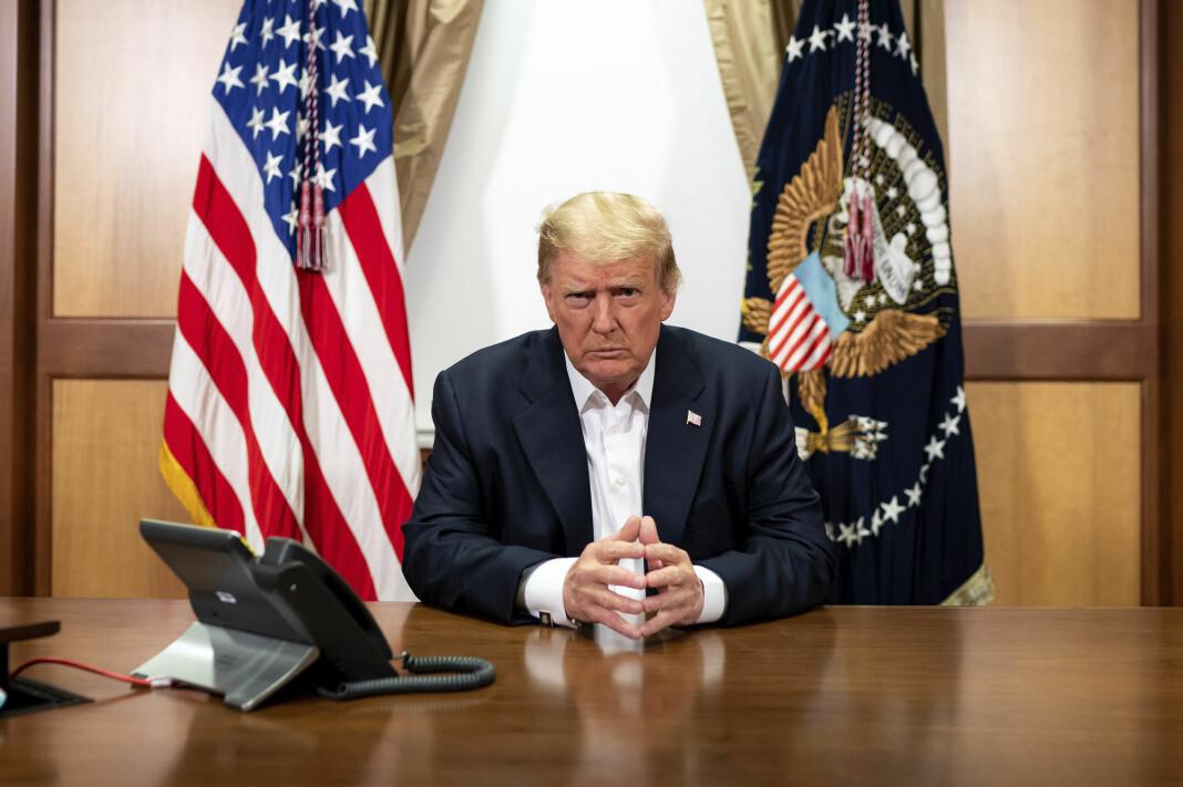 Tilstanden til president Donald Trump, som behandles for covid-19, er uklar.