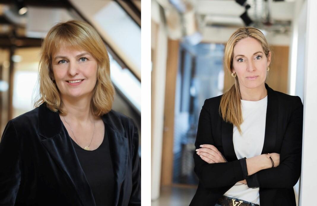 MBL ønsker å bruke erfaringene fra med Mentorprogrammet til å styrke mangfoldet i mediebransjen. Fra venstre MBL-sjef Randi S. Øgrey og prosjektleder Trine Ohrberg.