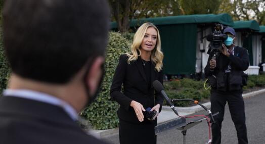 Journalister bekymret for koronasmitte i Det hvite hus