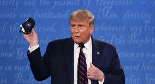 Facebook og Twitter blokkerte koronamelding fra Trump