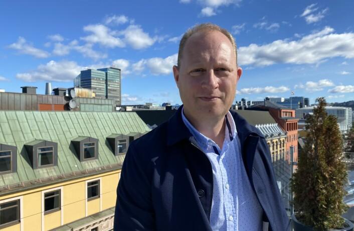 Tomas Bruvik, generalsekretær i Landslaget for lokalaviser, er glad innovasjonsstøtten videreføres.