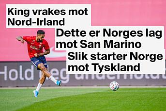 Slik klarer TV 2 å «alltid» avsløre laguttaket før landskamp: – Har ikke møter i et mørkt smug bak Ullevål stadion