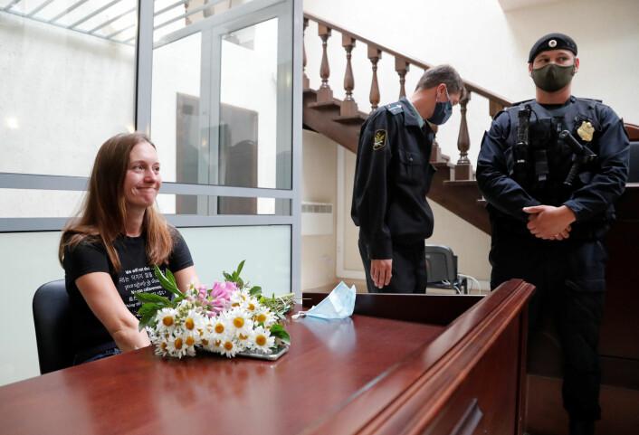 – Vi kan fortsatt dekke hva som helst, men vi må gjøre det med størst mulig varsomhet, sier Svetlana Prokopjeva om å være journalist i Russland.