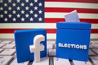 Facebook har fjernet 276 kontoer med falske profiler som hyllet Trump