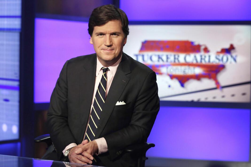 President Donald Trump skal undersøkes på direkten på Tucker Carlson Tonight.