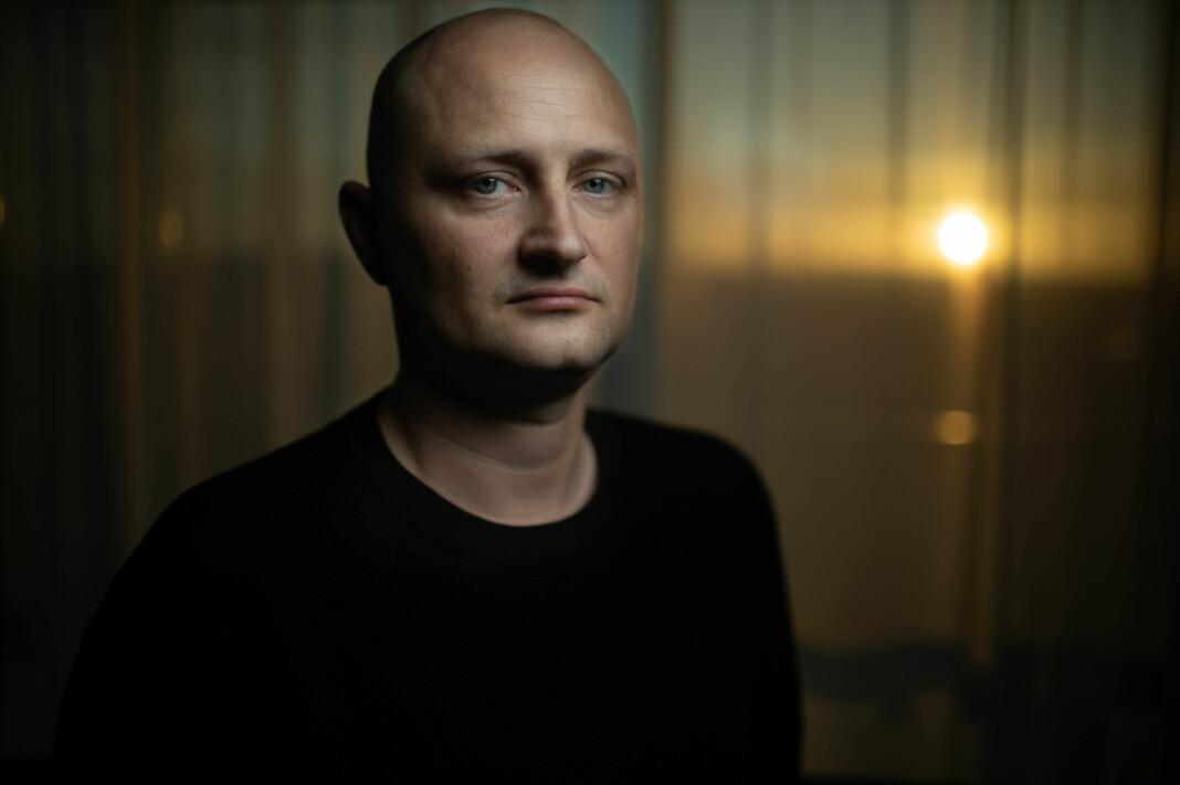 Den tidligere danske kokken Ulrich Larsen er en av hovedpersonene i Brennpunkt-dokumentaren.