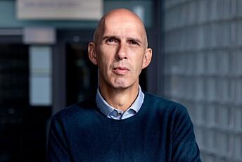 Frank Gander, programredaktør i NRK.