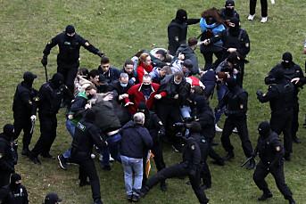 Flere journalister pågrepet i Hviterussland