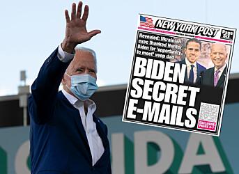 Twitter blokkerer deling av kontroversiell New York Post-artikkel om Joe Biden