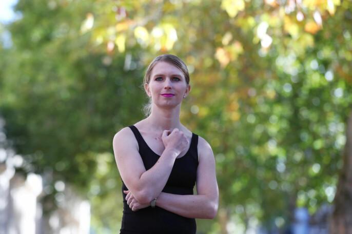 Chelsea Manning fotografert i London i 2018.