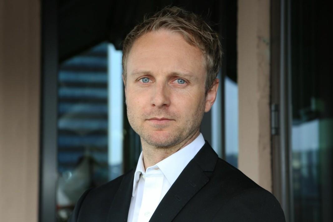 TV-gruppen Discovery, som blant annet eier TVNorge, anker Oslo tingretts avvisning av søksmålet deres mot staten. På bildet Discovery Norge-sjef Espen Skoland.