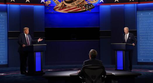 Mikrofonene kan skrus av i neste presidentdebatt
