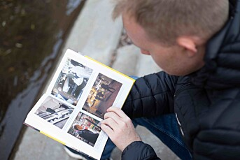 Solheim har selv tatt bildene av livvaktenes arbeidshverdag i hans nye bok.