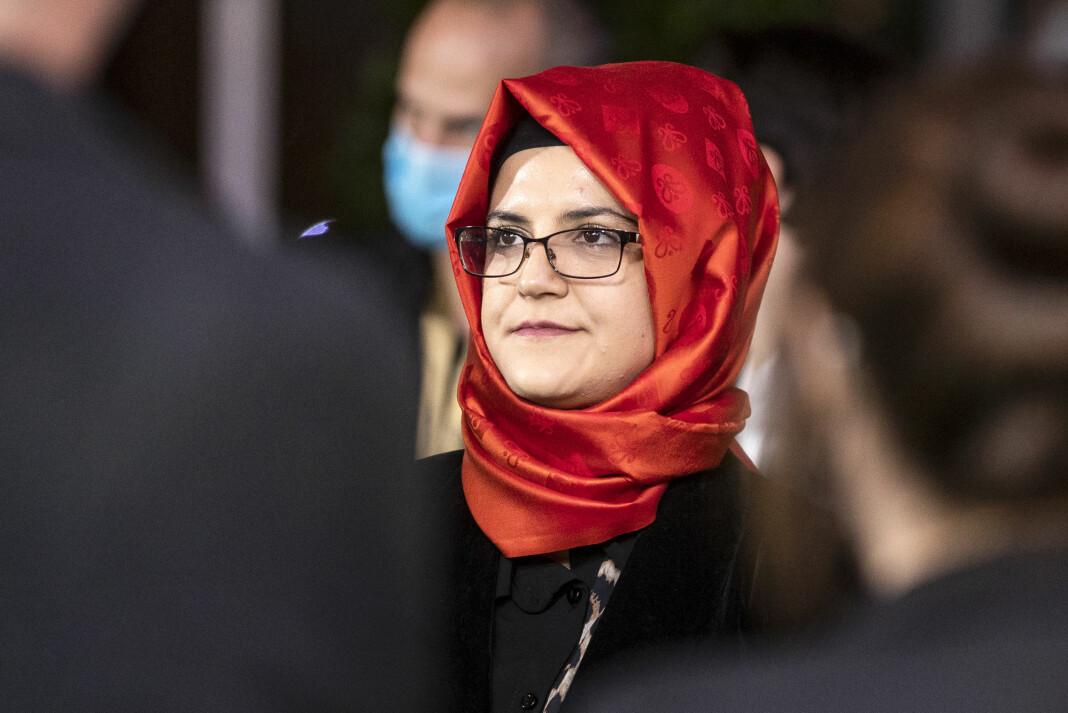 Hatice Cengiz går til sivilt søksmål mot kronprins Mohammed bin Salman og 20 andre for deres angivelige medvirkning til drapet på hennes forlovede, journalisten Jamal Khashoggi, i Tyrkia i 2018.