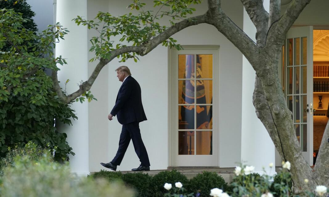 Trump avbrøt intervju med 60 Minutes