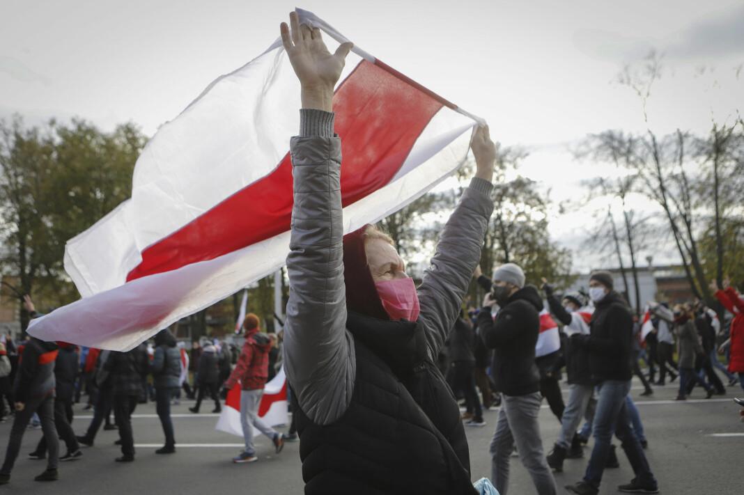Pressefrihetsorganisasjonen RSF er bekymret for vilkårene for journalister og medier under regimeprotestene i Hviterussland.