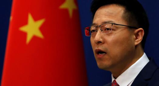 Kina protesterer mot amerikanske tiltak mot kinesiske medier