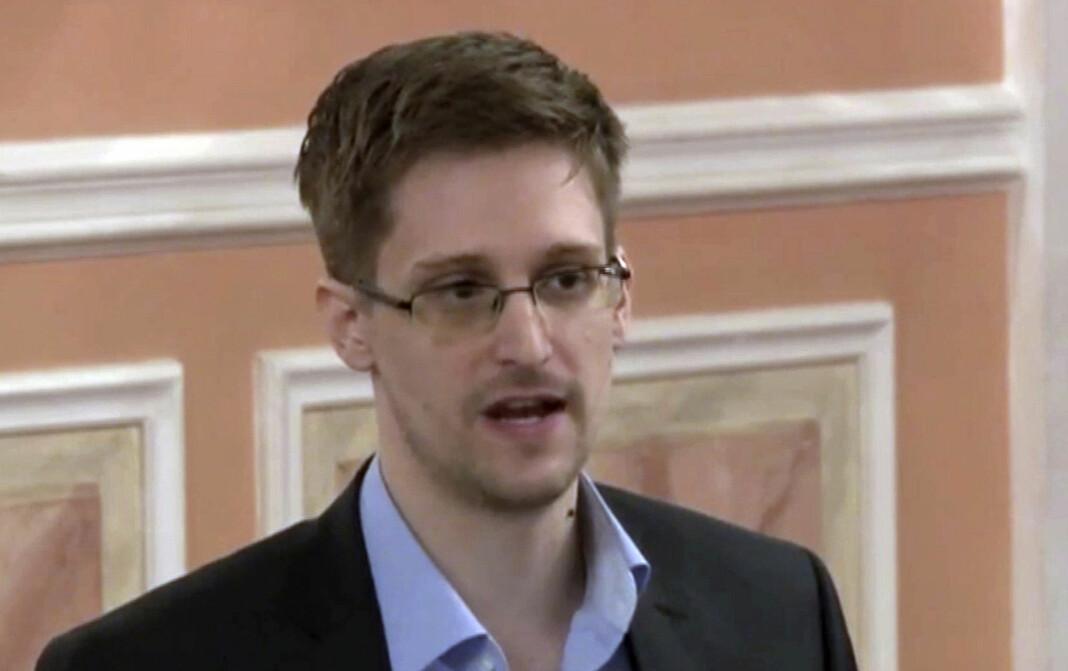 Edward Snowden i Moskva i 2013.