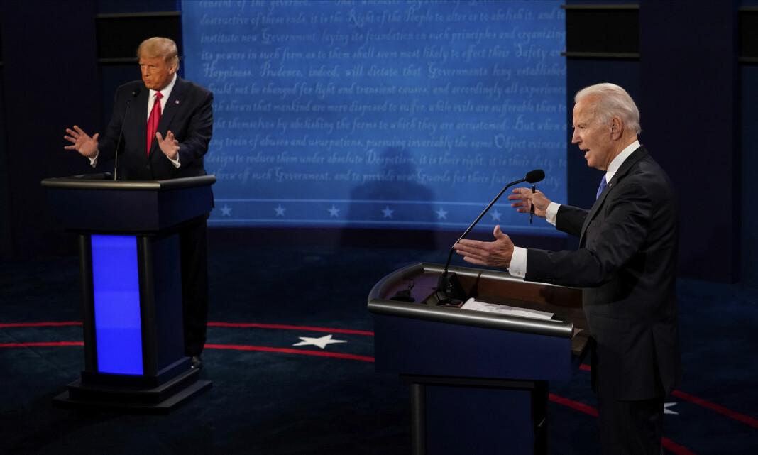 En mer ordnet presidentdebatt