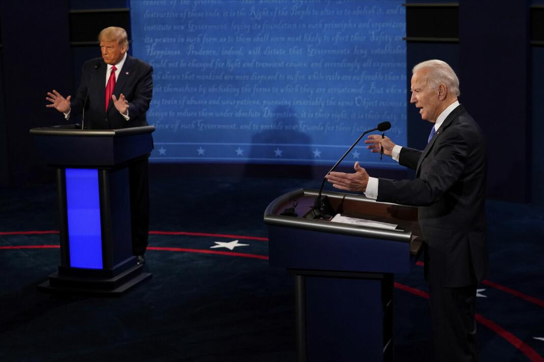 Den andre og siste debatten mellom president Donald Trump og Demokratenes kandidat Joe Biden er over, og det var en mer sivilisert debatt enn deres første møte.