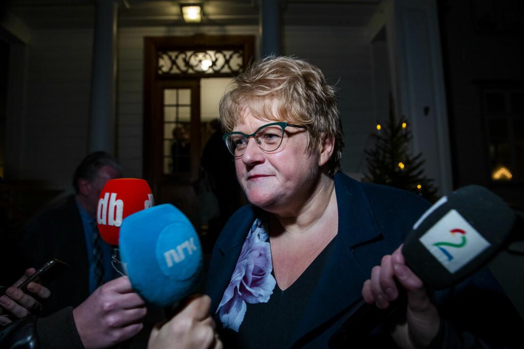 Trine Skei Grande mener den politiske journalistikken i Norge utvikler seg i feil retning.