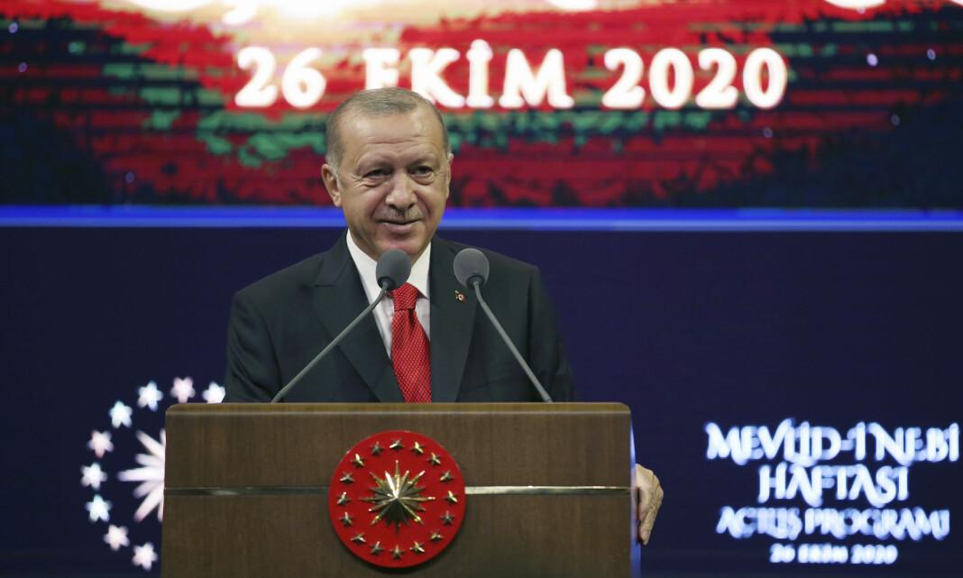Tyrkia varsler rettslige og diplomatiske reaksjoner på satiretegning av Erdogan