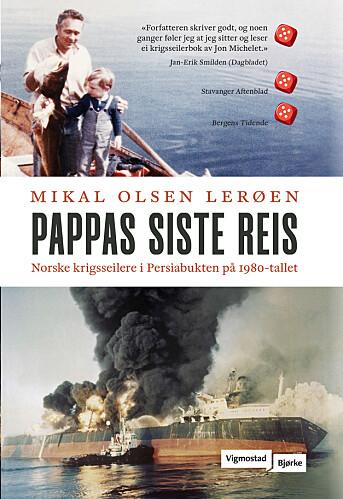 Mikal Olsen Lerøen vant prisen for boka «Pappas siste reis».