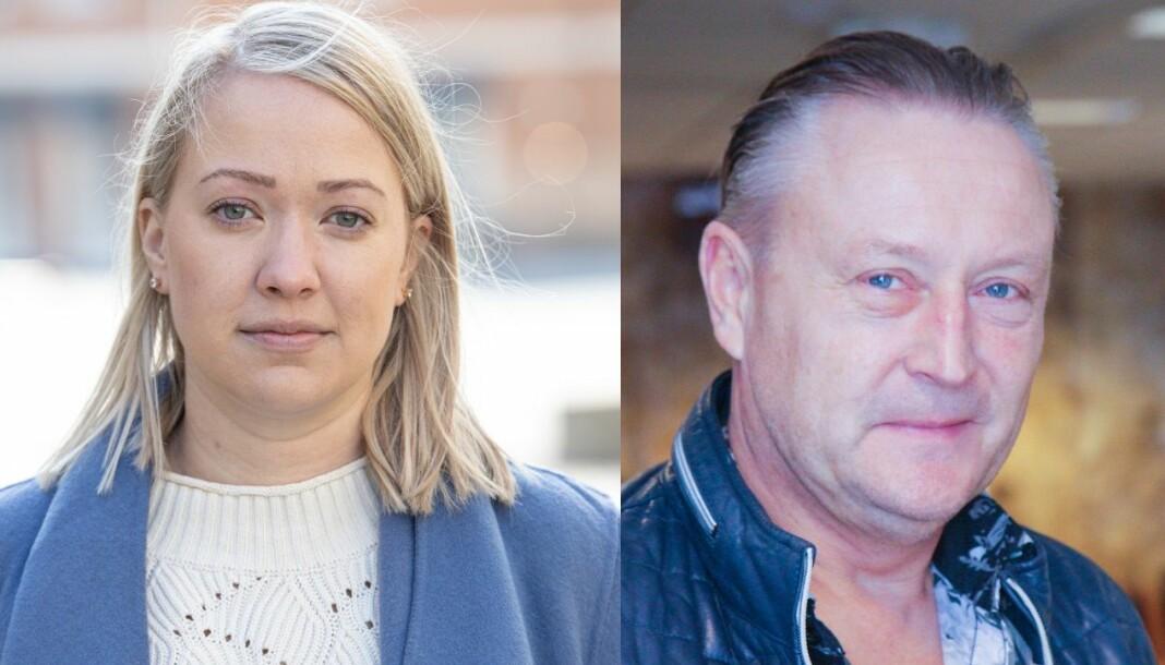 Grete Helgebø saksøker Arendals Tidendes eiere, her ved daglig leder Odd Bjørn Jensen, for ugyldig avskjed.
